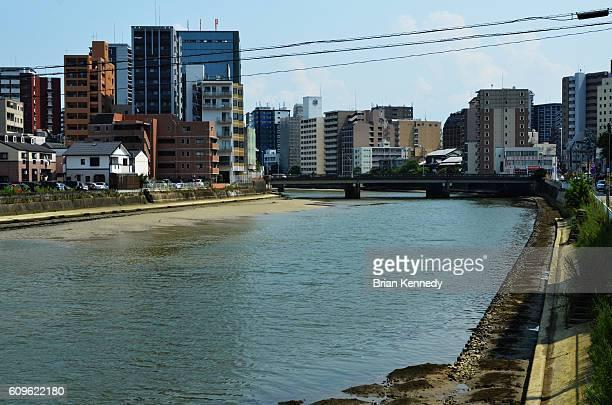 Hakata River Low Tide