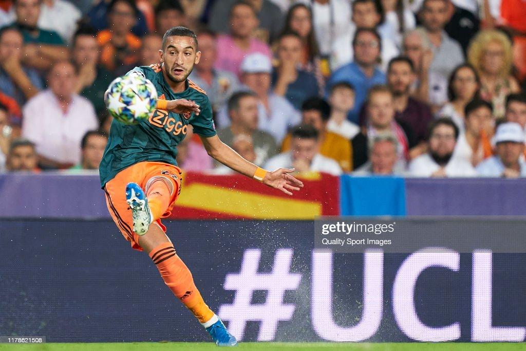 Valencia CF v AFC Ajax: Group H - UEFA Champions League : News Photo