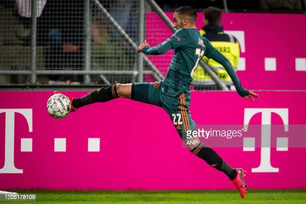 Hakim Ziyech of Ajax during the Dutch Toto KNVB Cup semi final match between FC Utrecht and Ajax Amsterdam at the Galgenwaard Stadium on March 04...