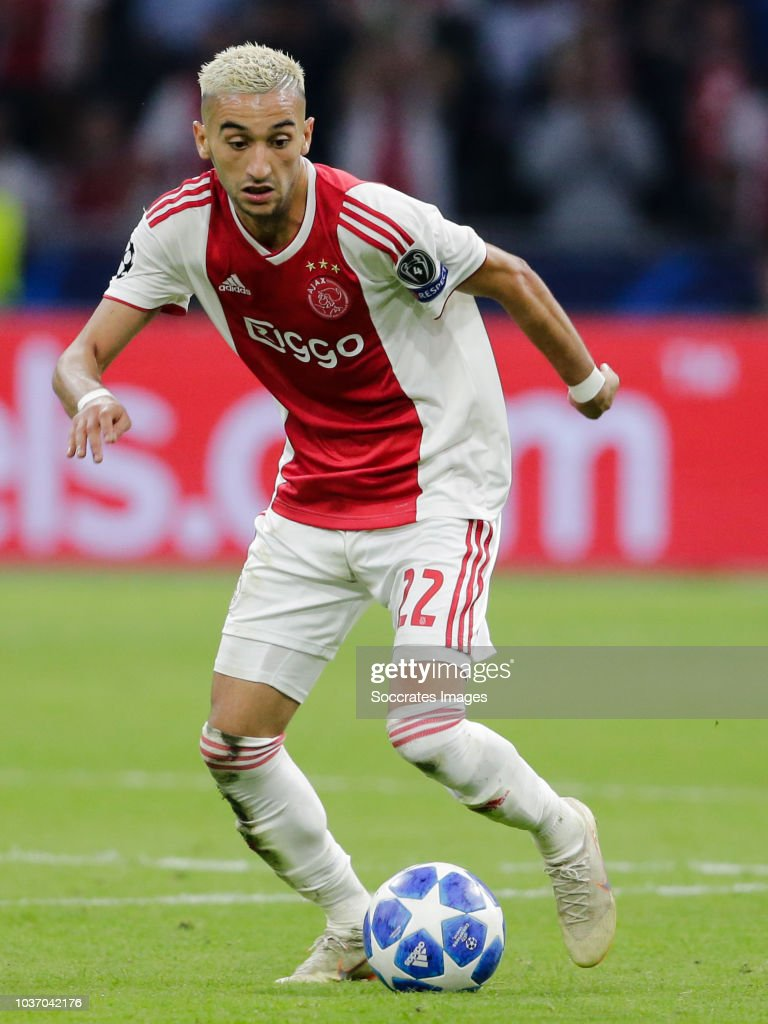 Ajax v AEK Athene - UEFA Champions League : News Photo
