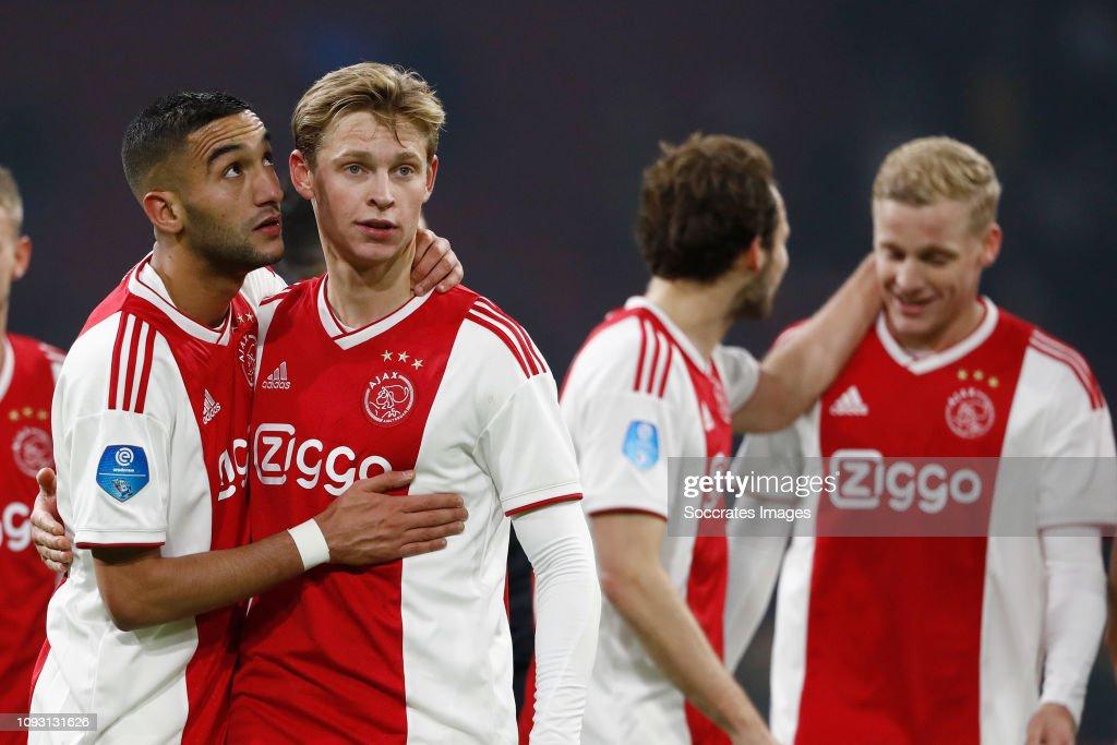 Ajax v VVV-Venlo - Dutch Eredivisie : News Photo