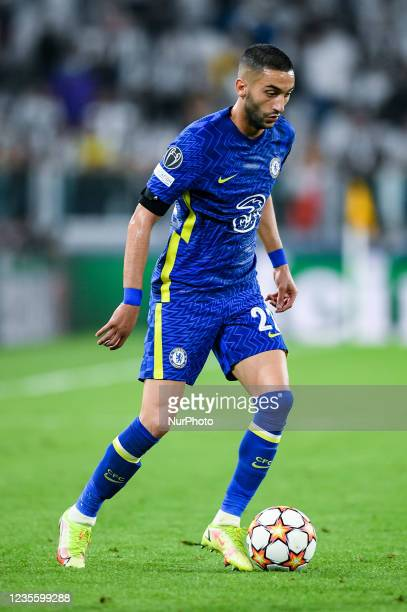 Hakim Ziyech of Chelsea FC during the UEFA Champions League group H match between FC Juventus and Chelsea FC at Allianz Stadium, Turin, Italy on 29...
