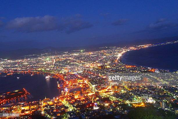 Hakodate city lights