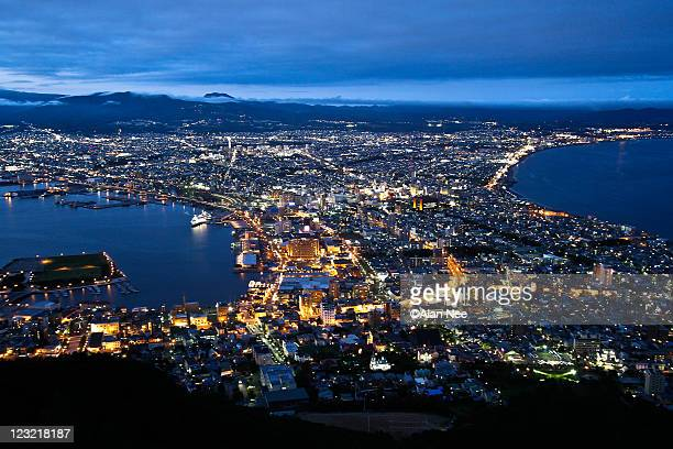Hakodate's night view