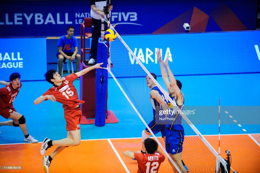 Japan v Italy - Mens Volleyball Nations League : ニュース写真
