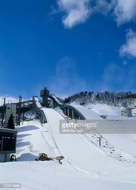 Hakuba Ski Jumping Stadium, Hakuba, Nagano, Japan