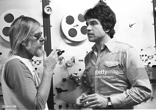 Hal Ashby and Warren Beatty