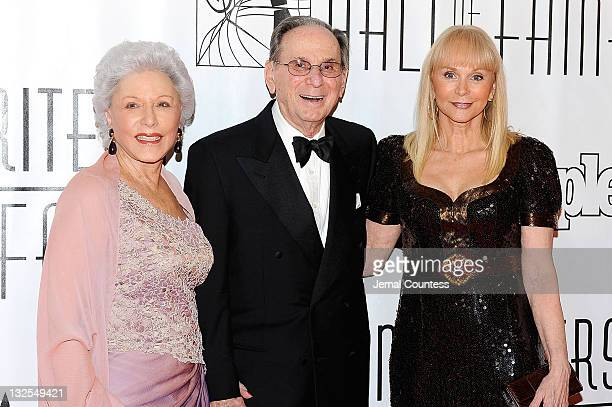 Hal David and Jackie DeShannon attend the 41st Annual Songwriters Hall of Fame Ceremony at The New York Marriott Marquis on June 17 2010 in New York...