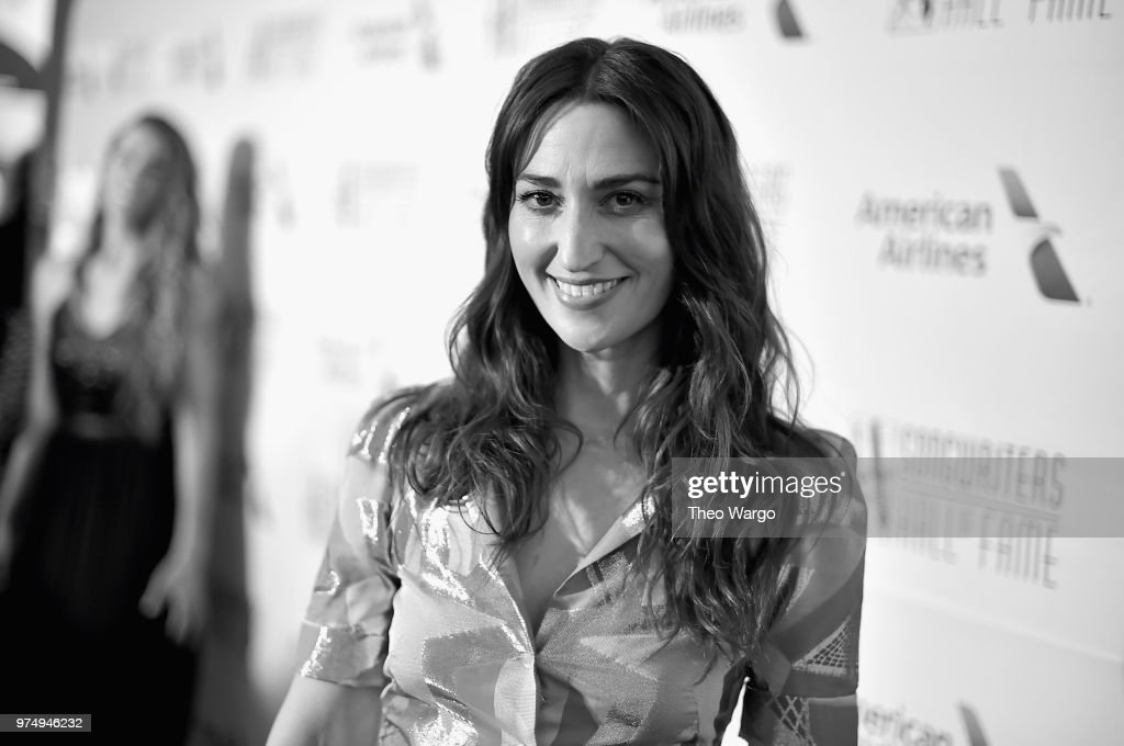 Hal David Starlight Award Honoree Sara Bareilles attends the Songwriters Hall of Fame 49th Annual Induction and Awards Dinner at New York Marriott Marquis Hotel on June 14, 2018 in New York City.