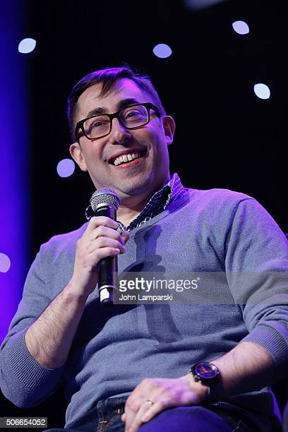 Hal Goldberg performs during BroadwayCon 2016 at the Hilton Midtown on January 24 2016 in New York City