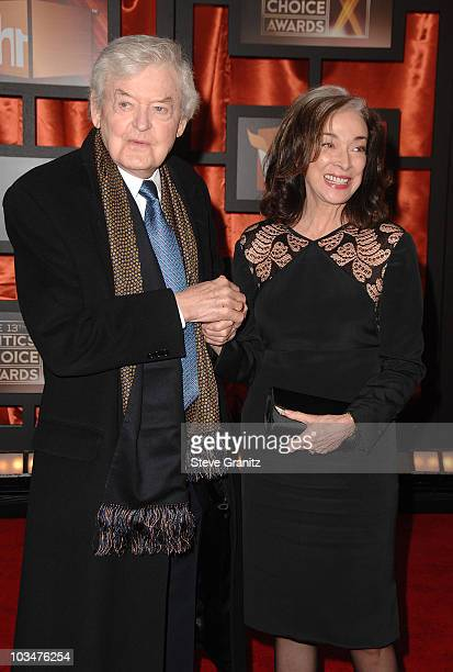 Hal Holbrook and Dixie Carter arrive at the 13th ANNUAL CRITICS' CHOICE AWARDS at the Santa Monica Civic Auditorium on January 7, 2008 in Santa...