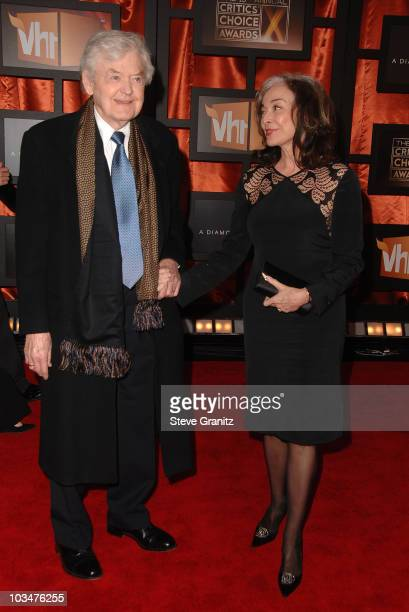 Hal Holbrook and Dixie Carter arrive at the 13th ANNUAL CRITICS' CHOICE AWARDS at the Santa Monica Civic Auditorium on January 7 2008 in Santa Monica...