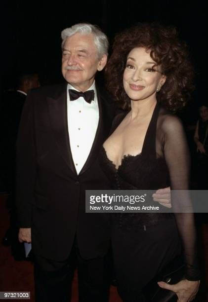 Hal Holbrook and Dixie Carter arrive for the Tony Awards presentations at Radio City Music Hall