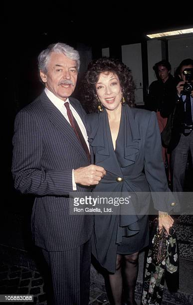 Hal Holbrook and Dixie Carter during 5th Annual Genesis Awards at Beverly Wilshire Hotel in Beverly Hills California United States