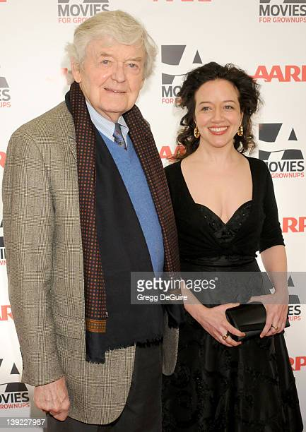 Hal Holbrook and Ginna Carter arrive at AARP The Magazine's 10th Annual Movies For Grownups Awards Gala at the Beverly Wilshire Hotel on February 7...