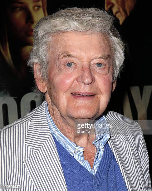 Hal Holbrook attends Good Day For It Los Angeles premiere at The Downtown Independent on July 22 2011 in Los Angeles California