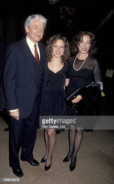 Hal Holbrook Ginna Carter and Dixie Carter during 5th Annual Governor's Awards at Beverly Hilton Hotel in Beverly Hills California United States