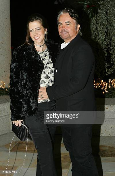 Hal Ketchum and guest arrive at the 52nd Annual BMI Country Awards November 8 2004 in Nashville Tennessee