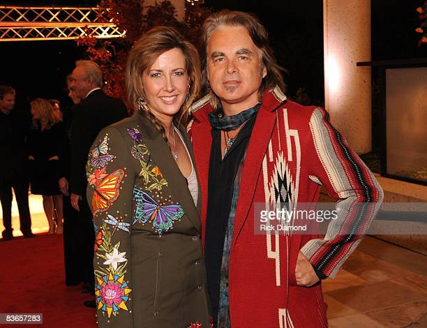 Hal Ketchum and guest attends the 56th Annual BMI Country Awards at The BMI Building on November 11 2008 in Nashville Tennessee