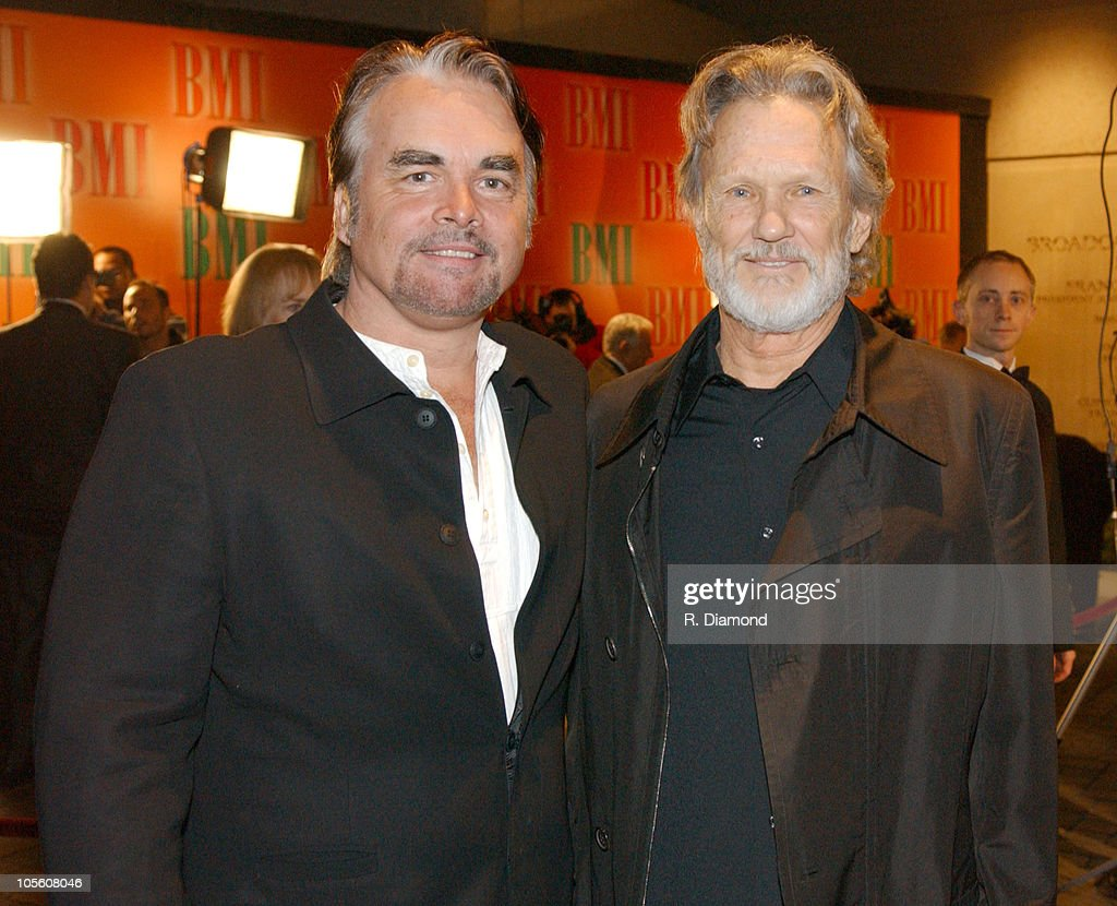 Hal Ketchum and Kris Kristofferson during 52nd Annual BMI Country Awards - Arrivals at BMI in Nashville, Tennessee, United States.