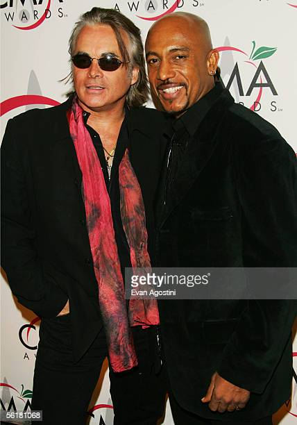 Hal Ketchum and Montel Williams attend the 39th Annual Country Music Association Awards at Madison Square Garden November 15 2005 in New York City