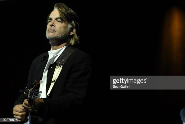 Hal Ketchum performs at the 2009 Leadership Music Dale Franklin Award at the Renaissance Hotel on August 23 2009 in Nashville Tennessee