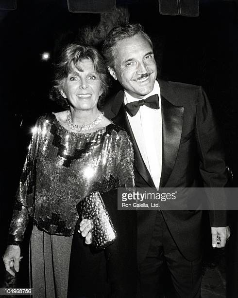 """Hal Linden and wife during """"Night of 100 Stars"""" Party - November 2, 1983 at Bel Air Hotel in Los Angeles, California, United States."""