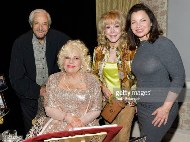 Hal Linden Renée Taylor Barbara Eden and Fran Drescher pose for portrait at the LA Premiere of Renee Taylor's My Life On A Diet Night 1 at Wallis...
