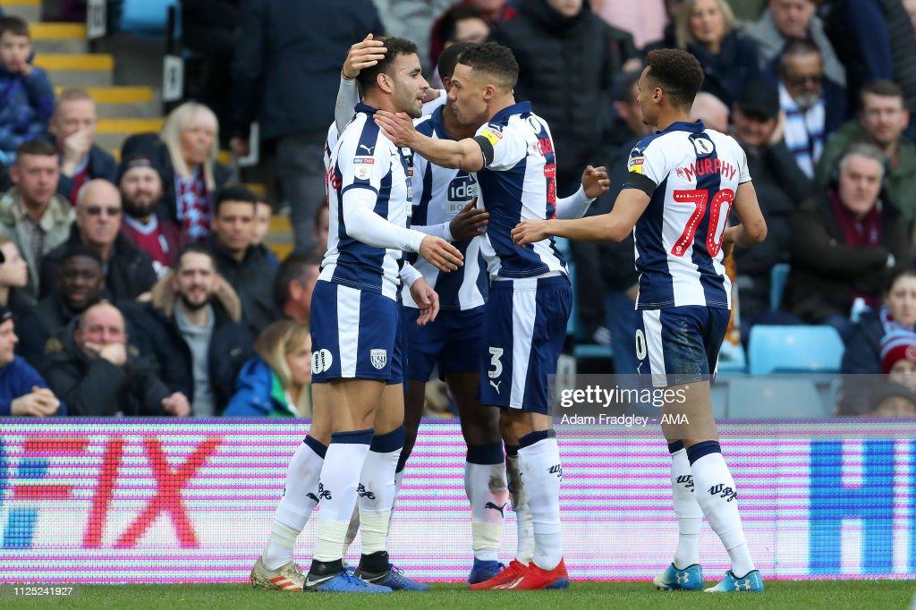 Aston Villa v West Bromwich Albion - Sky Bet Championship : News Photo