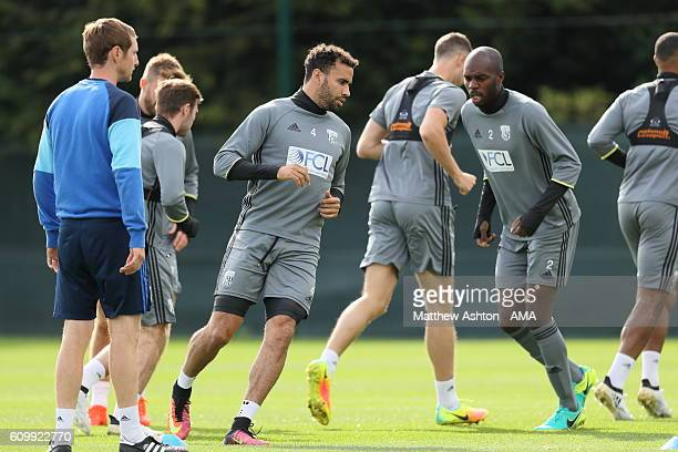 Hal RobsonKanu of West Bromwich Albion during a training session at West Bromwich Albion Training Ground on September 23 2016 in Walsall England