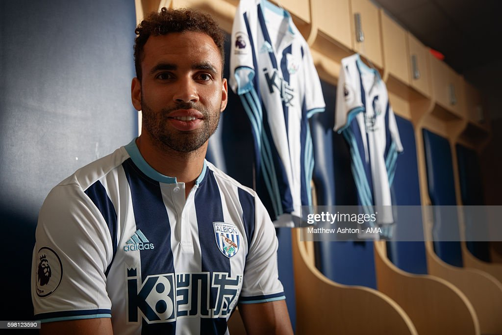 West Bromwich Albion Unveil New Signing Hal Robson-Kanu : News Photo