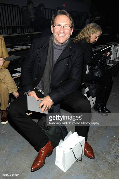 Hal Rubenstein attends the Alexander Wang Fall 2012 fashion show during MercedesBenz Fashion Week at Pier 94 on February 11 2012 in New York City