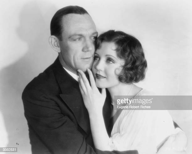 Hal Skelly as Ralph 'Skid' Johnson and Nancy Carroll as Bonny Lee King in the Paramount film 'The Dance of Life' adapted from the stage play...
