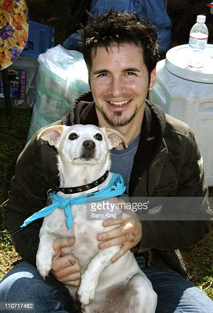 Hal Sparks and Yogi during 4th Annual Dogwalk to Fund Curesearch National Childhood Cancer Foundation at Temescal Canyon Park in Pacific Palisades...