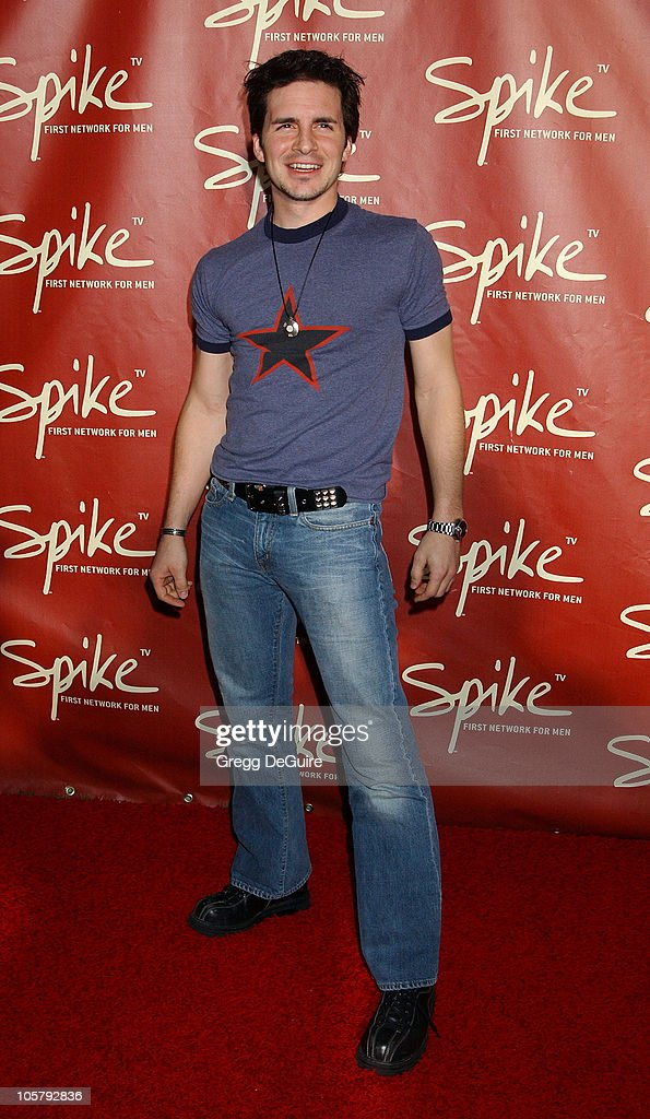 Hal Sparks during Launch of Spike TV at the Playboy Mansion at Playboy Mansion in Los Angeles, California, United States.