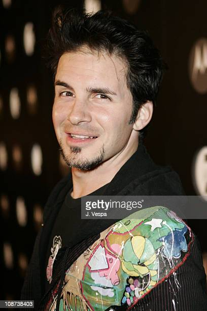 Hal Sparks during Motorola's Seventh Anniversary Party to Benefit Toys for Tots Red Carpet at American Legion in Los Angeles California United States