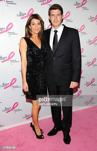 Hal Steinbrenner and Christina Steinbrenner arrives to the 2011 Breast Cancer Research Foundation's Hot Pink Party at The Waldorf=Astoria on April 14...