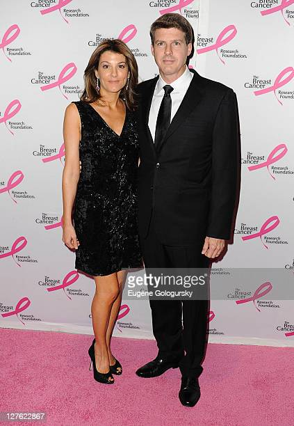 Hal Steinbrenner and Christina Steinbrenner attend the 2011 Breast Cancer Research Foundation's Hot Pink Party at The Waldorf Astoria on April 14...