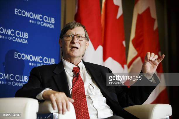 Hal Varian chief economist for Google Inc speaks during an Economic Club of Canada event in Toronto Ontario Canada on Wednesday Sept 12 2018 Varian...