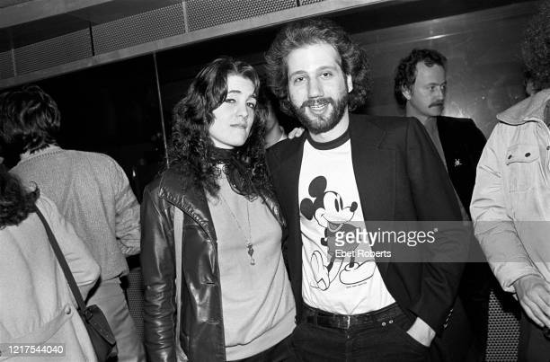 Hal Willner at the Robert Klein Radio Show taping of a Ringo Starr interview at RCA Studios in New York City on March 26 1981
