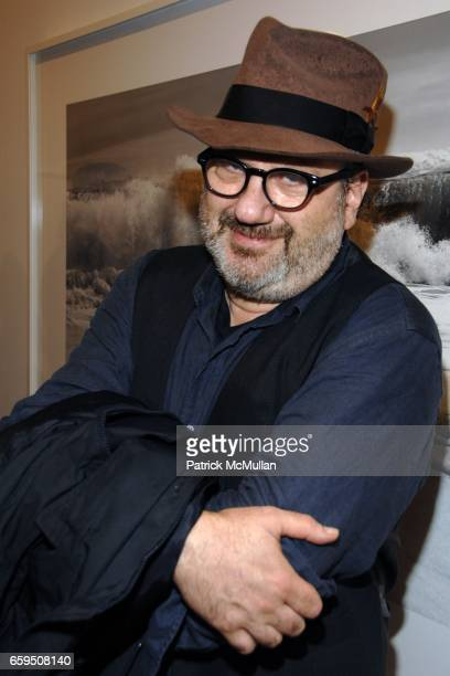 Hal Willner attends CLIFFORD ROSS Gallery Opening at Sonnabend Gallery on October 24 2009 in New York City