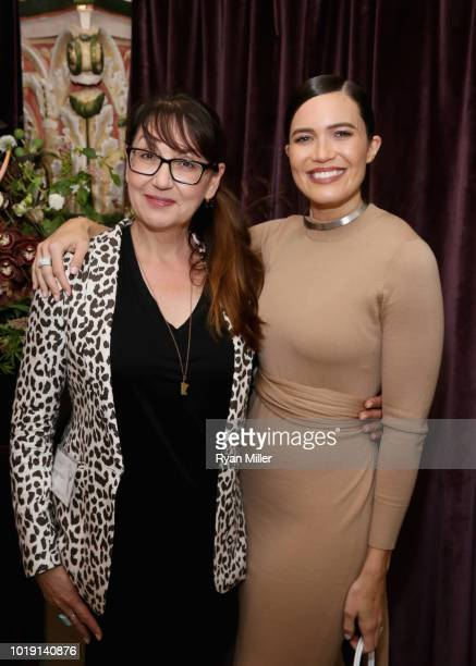 Hala Bahmet and Mandy Moore attend Harper's BAZAAR and the CDG celebrate Excellence in Television Costume Design with the Emmy Nominated Costume...