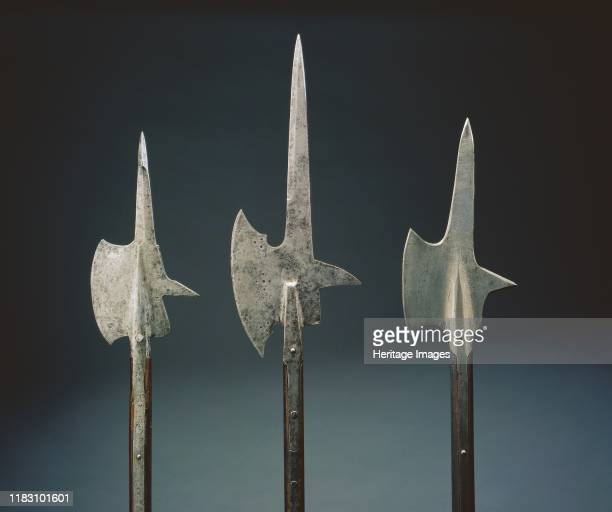 Halberd, 1600s. The halberd was a staff weapon favored by European infantries of the 1400s and 1500s for its versatility and deadly effect. The word...