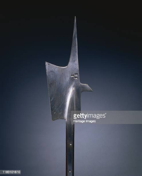 Halberd, circa 1480-1500. The halberd was a staff weapon favored by European infantries of the 1400s and 1500s for its versatility and deadly effect....