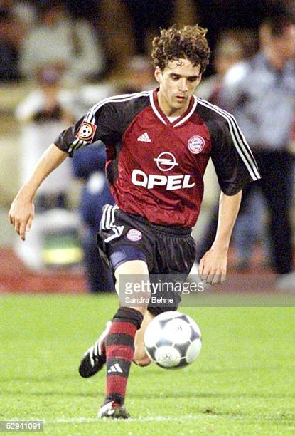 LIGAPOKAL 2001 Halbfinale Augsburg HERTHA BSC BERLIN FC BAYERN MUENCHEN 10 Owen HARGREAVES/BAYERN