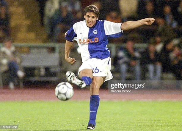 LIGAPOKAL 2001 Halbfinale Augsburg HERTHA BSC BERLIN FC BAYERN MUENCHEN 10 Sebastian DEISLER/HERTHA