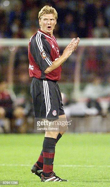 LIGAPOKAL 2001 Halbfinale Augsburg HERTHA BSC BERLIN FC BAYERN MUENCHEN 10 Stefan EFFENBERG/BAYERN