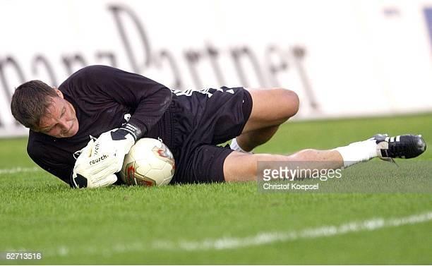 POKAL 2000 Halbfinale Meppen FC SCHALKE 04 BAYER 04 LEVERKUSEN 20 TORWART Frank ROST/SCHALKE