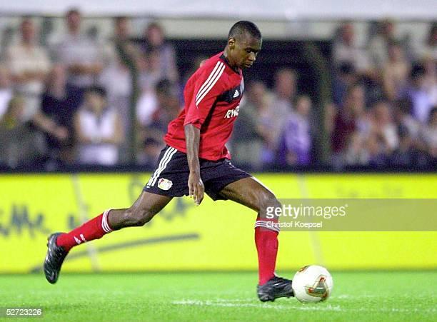 POKAL 2002 Halbfinale Meppen FC SCHALKE 04 BAYER 04 LEVERKUSEN 20JUANSilveira DOS SANTOS/LEVERKUSEN