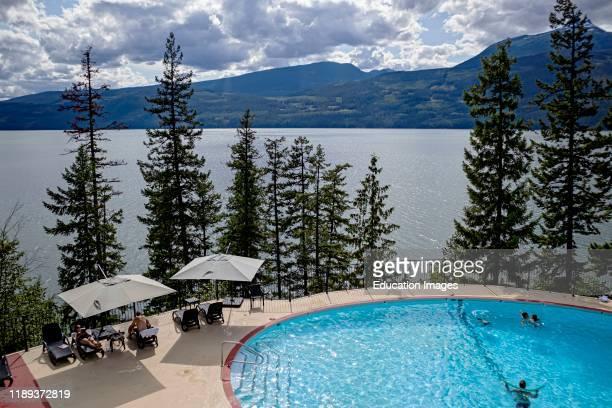Halcyon Hot Springs Upper Arrow Lake Nakusp British Columbia Canada